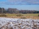Późnojesienny śnieg