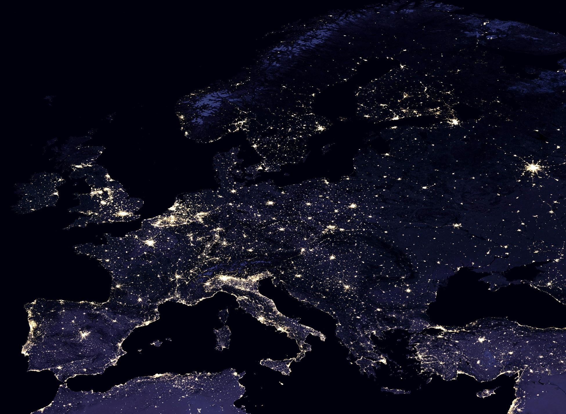Satelita Zrobil Nowe Zdjecie Ziemi W Nocy Zobacz Na Nim Polske